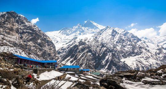 Machapuchhre Base Camp Nepal