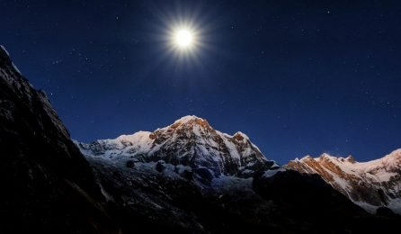 Annapurna-I-seen-from-on-the-way-to-Annapurna-Base-Camp