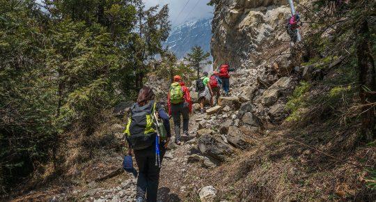 Chame Annapurna Trekking in Nepal