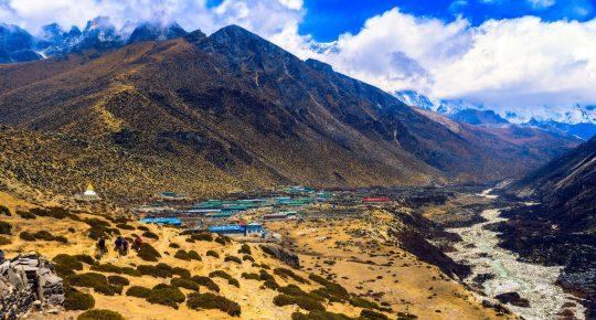 dingboche nepal everest