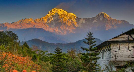 ghandruk village himalaya