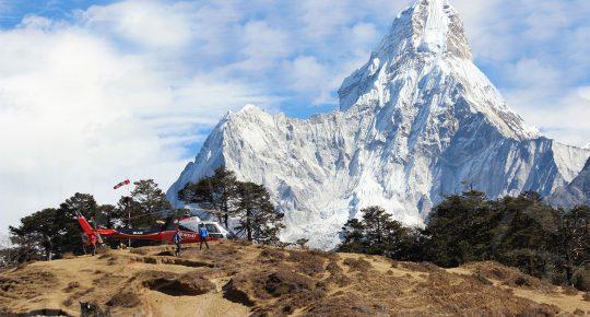 heli tour nepal