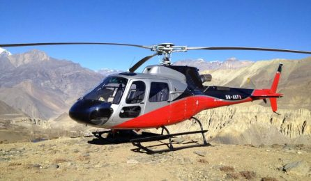 helicopter tour nepal