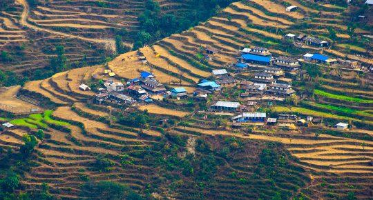 Lhandruk Village Nepal