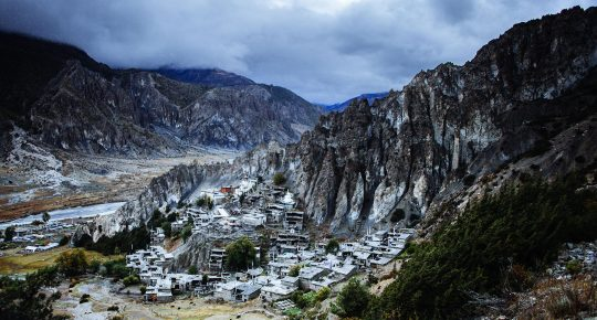Manang Village of Nepal