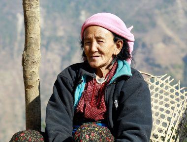 Nepali Mountain People