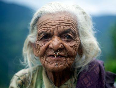 Old woman Nepal