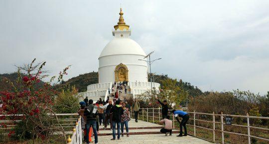 Peace Pagoda Nepal