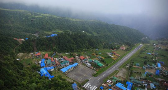 tenzing hillary lukla airport