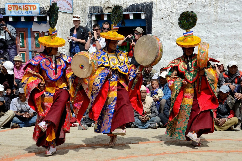 Tiji festival dance