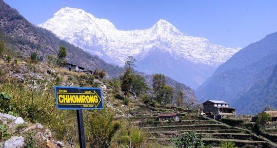 Way to Chhomrong