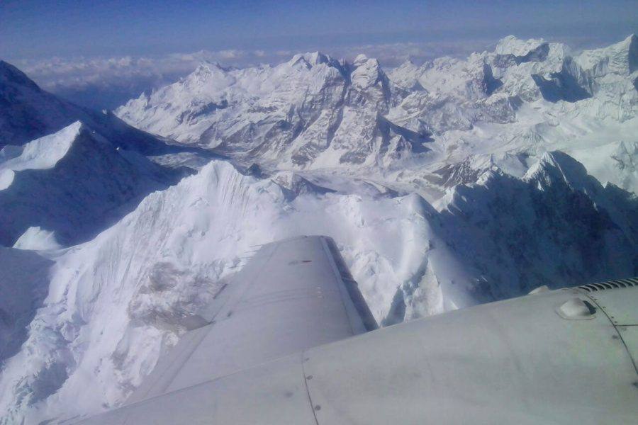 nepal mountain flight