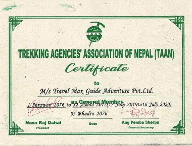 travel max guide taan