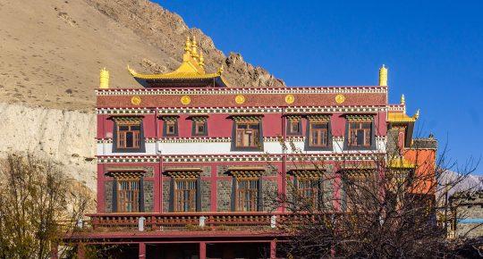 Kag Chode Buddhist Temple at Kagbeni Mustang