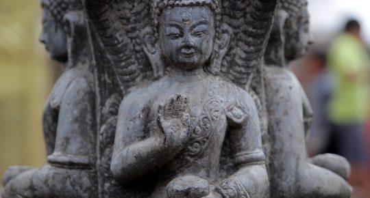 Buddha Shrine in Swoyambhunath