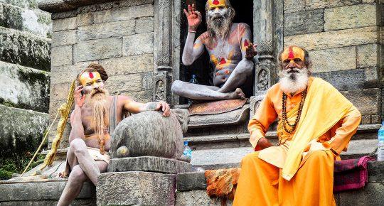 Sadhu Pashupatinath holy Man Hindu